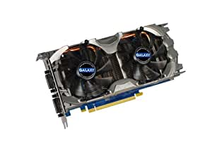 Galaxy GeForce GTX 560 Ti GC 1 GB GDDR5 PCI Express 2.0 DVI/DVI/Mini-HDMI SLI Ready Graphics Card, 56NGH6HS4IXZ