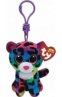 TY Beanie Boos Dotty Leopard, Keyclip!