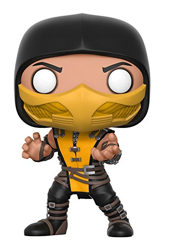 Mortal Kombat 3 Scorpion Costume (Funko Pop Games: Mortal Kombat-Scorpion Collectible Vinyl Figure)