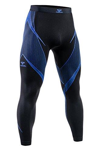 [해외]Tervel Men`s Optiline Long Bottoms BlackBlue / Tervel Men`s Optiline Long Bottoms BlackBlue Size L