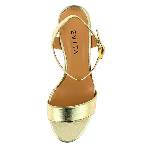 Donna Evita Gold Shoes Sandali Mariella qtHzt4wr