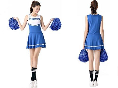 COSAUG Sexy High School Cheerleading Skirts Cheer Costume