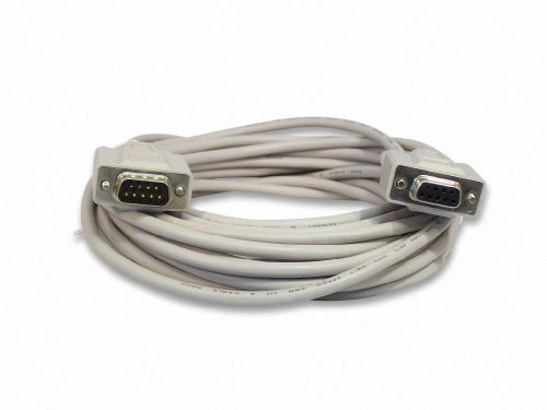 - Your Cable Store 25 Foot DB9 9 Pin Serial Extension Cable RS232