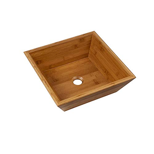 Bamboo Vessel Bath Sink (MAYKKE Coventry Square 16