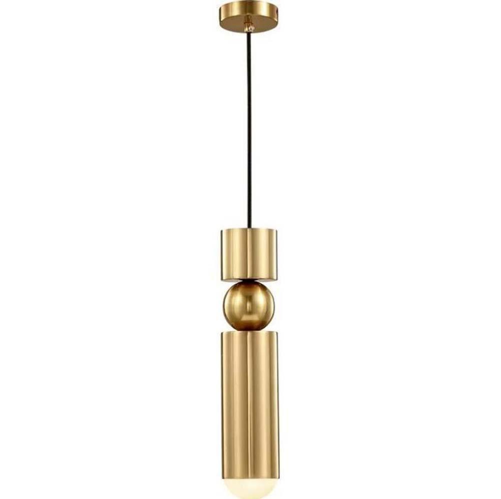 Postmodern Iron Single Head Hängelampen Kreativität Bullet Form Metal Sense Pendelleuchten LED Bar Tisch / Schlafzimmer / Nacht Kronleuchter Dekoration Lampe