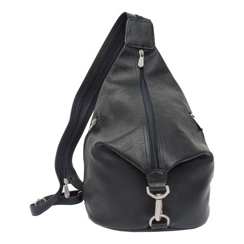Piel Leather Three Zip Hobo Sling product image