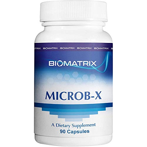 MICROB X Anti-Microbial Essential Oils (Thyme, Clove, Oregano) Supplement for GI Support - Helps Eliminate Gut Infections, Bad Bugs and Bacteria (90 Capsules) (Best Oregano Oil Supplement)