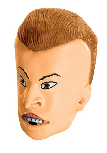 MTV Beavis and Butt-Head Adult Deluxe Overhead Latex Butt-Head Mask, Multicolored, One Size for $<!--$39.99-->