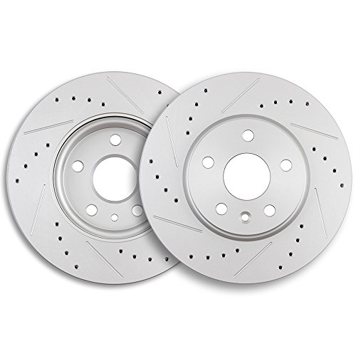 ECCPP 2pcs Front 276 mm Discs Brake Rotors Brake Kit for 2011-2016 Chevrolet Cruze,2012-2015 Chevrolet Sonic - 276 Mm Front Disc