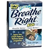 Breathe Right Nasal Strips for Kids-30 Ct. (Pack of 3)