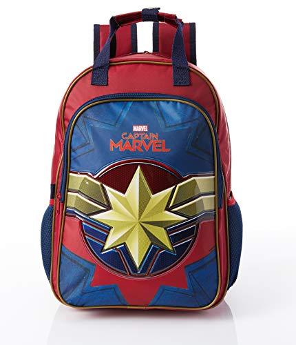 Mochila G, Capitã Marvel, DMW Bags, 11645, Colorido