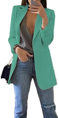 WHBDFY Brand Fashion Slim Blazers Mujeres Otoño Traje Chaqueta ...
