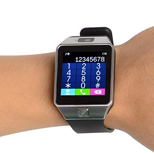 YASYAS W1 - Reloj inteligente compatible con Android, teléfonos móviles y tabletas iOS (2 MP, ...