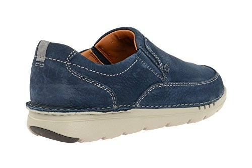 Clarks Scarpe Da Uomo - Comoda Pantofola - Scarpe Basse E Blu Non Facili