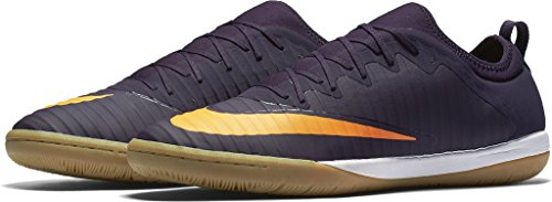 Nike MercurialX Finale II IC mens soccer-shoes 831974-589_10.5 - Purple Dynasty/Bright Citrus