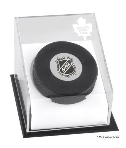 (Mounted Memories Toronto Maple Leafs Puck Logo Display Case)