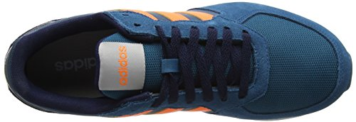 adidas Men's 8k Running Shoes, Rosso (Core Red S17/Solar Red/Core Black) Blue (Real Teal S18/Hi-res Orange S18/Collegiate Navy Real Teal S18/Hi-res Orange S18/Collegiate Navy)