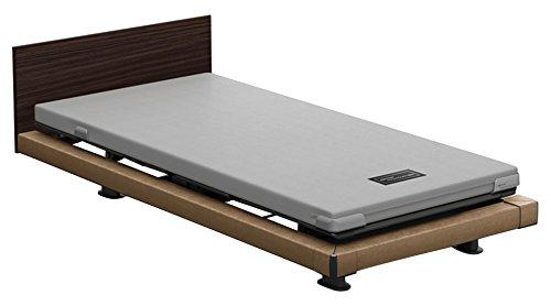 パラマウントベッド 電動ベッド インタイム1000 マットレス付 2モーター ヨーロピアン フットボードあり (ホワイト) RQ-1234SD+RM-E531 【4梱包】 B076D9TVJL 木目柄(レッド)|ヨーロピアン フットボードあり (ホワイト) 木目柄(レッド)