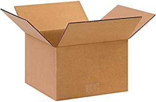 """product image for Partners Brand P10106 Corrugated Boxes, 10""""L x 10""""W x 6""""H, Kraft (Pack of 25)"""
