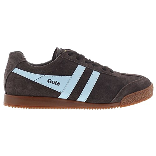 Gola Sport Womens Harrier Dark Brown Suede Dark Brown Suede Trainers 6 ()