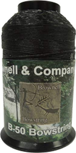 Brownell B-50 Dacron Black 1/4 Lb Spool for sale  Delivered anywhere in USA