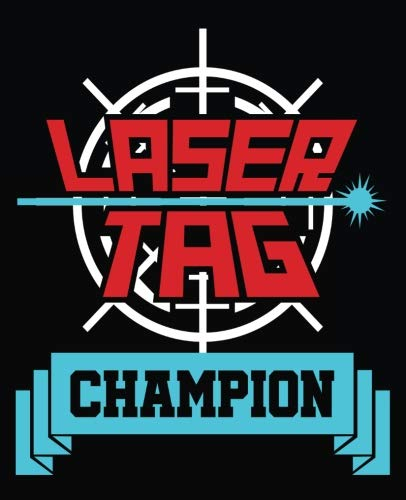 Champions Laser Tag - Laser Tag Champion: Laser Tag Composition Notebook Back to School 7.5 x 9.25 Inches 100 College Ruled Pages Journal Diary Gift