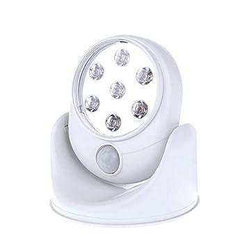 IPUIS Wireless Motion Sensor LED Lights 360°Infrared Motion ...
