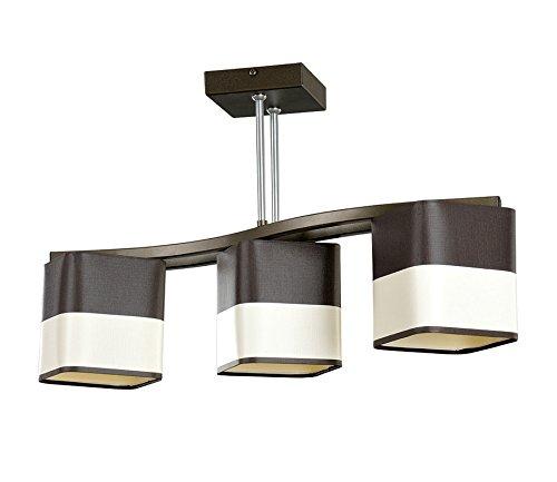 MOKKA 3 Lámpara de la lámpara colgante lámpara de techo ...