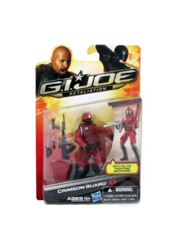 G.I. Joe Retaliation Crimson Guard Actio - Cobra Crimson Guard Shopping Results