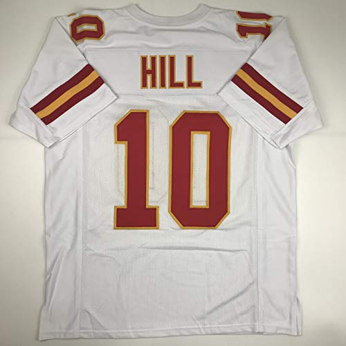 Unsigned Tyreek Hill Kansas City White Custom Stitched for sale  Delivered anywhere in USA