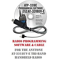 Anytone AT-3318UV Series Two-Way Radio Programming Software & Cable Kit