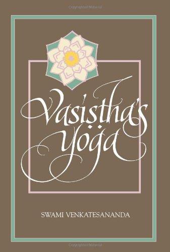 Vasistha's Yoga (Special Paper; 27)