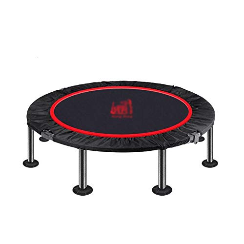 Trampoline Xiaomei Folding Indoor Portable Exercise Life Bounce Burn Folding Indoor Mini Max Load 200KG Used in Home, Outdoor (Color : A)