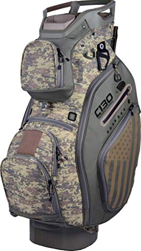 Sun Mountain Golf 2019 C-130 Supercharged Cart Bag SAGE-DESERT (Sage-Desert) ()