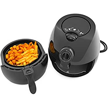 Smith & Hanks Healthy Convection Oil less Airfryer 2.2L Capacity Low Fat Rapid Air Cooker