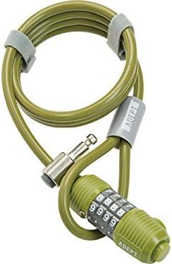 ADEPT (アデプト) ウィズ 812 ケーブルロック カーキ LKW26303
