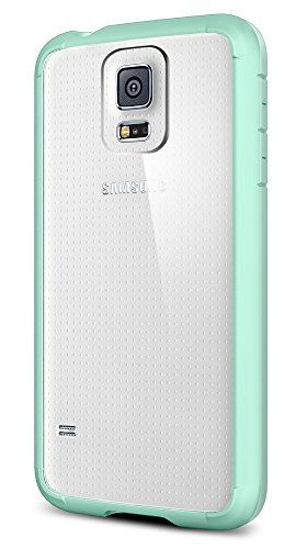 Spigen Ultra Hybrid Galaxy S5 Case with Air Cushion Technology and Hybrid Drop Protection for Samsung Galaxy S5 2014 - Mint