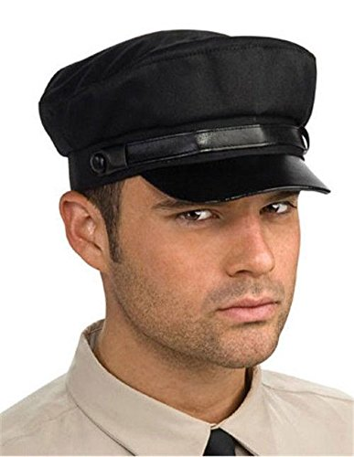Green Hornet Costume (Green Hornet Kato Hat, Black, One Size)