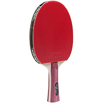 Killerspin JET300 Table Tennis Paddle - Red Ping Pong Model of Performance and Style with Specialy Designed Memory Book