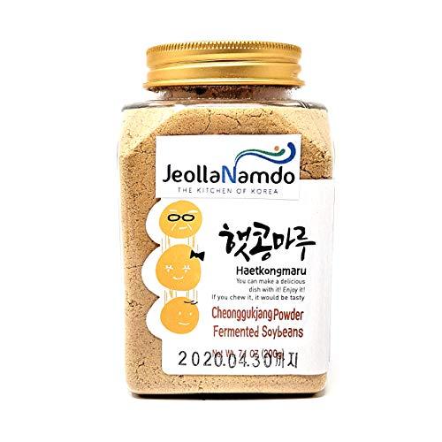 Soybean Natto Powder 100% Natural Nattokinase Poweder l Healthy Fermented Food 200g Cheongukjang Powder