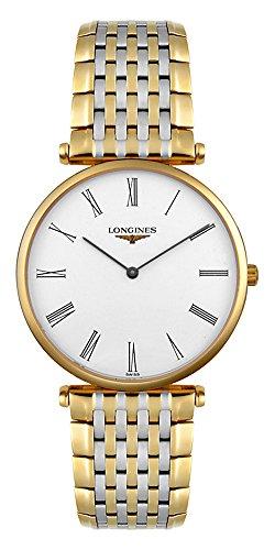 Longines L47092117 La Grand Classic in Steel and 18k Gold Ultra Thin Men s Watch