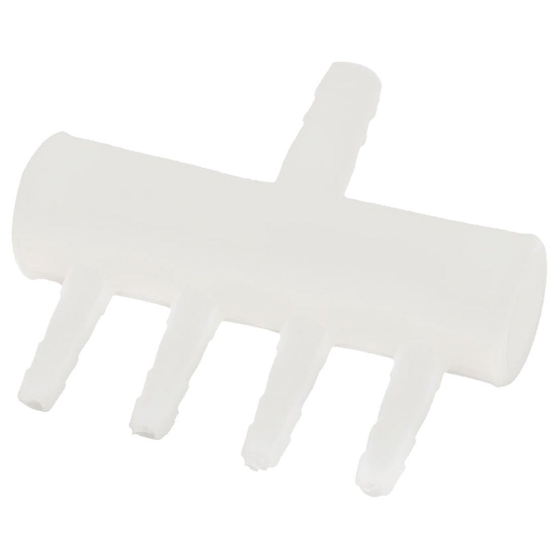 SODIAL(R) Plastic 4 Way Aquarium Oxygen Tube Fitting Splitter Manifold Tap Valve
