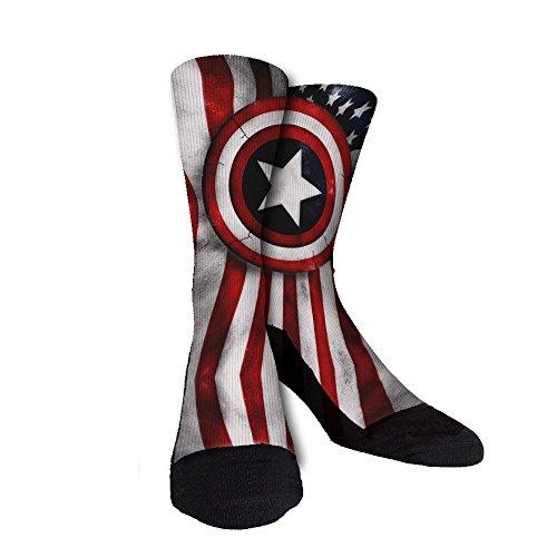 captain america basketball socks - 4