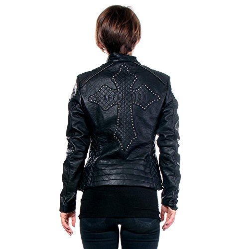 Black-Water-PU-Leather-Jacket-By-Affliction