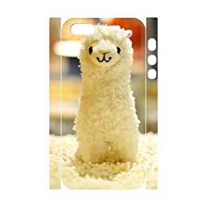 ALICASE Diy Customized Case Lama Pacos 3D Case for iPhone 5,5S [Pattern-1]