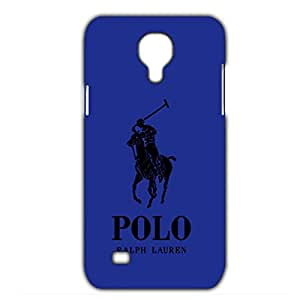 Custom Personlized Polo Ralph Lauren Logo Blue and Red Background Samsung Galaxy S4 mini_3D Plastic 3D Durable Case Cover GT9E38