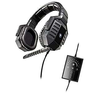 Snakebyte Snakebyte Python 7500R - Real 7.1 Surround Sound USB Gaming Headset with detachable Microphone for PC / Notebook / Computer - Incl. In Line Remote - Over the Ear - Wired - PC;