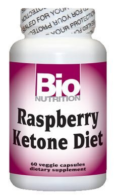Bio Nutrition Raspberry Ketone Diet - 60 Veggie Caps, 3 pack by Bio Nutrition by Bio Nutrition