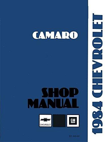 1984 camaro repair manual - 3
