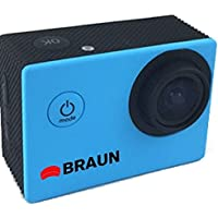 Braun Paxiyoung Action Camera Blue [158071]